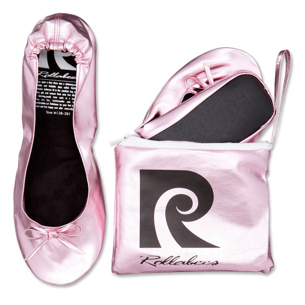 Rollabees pink metallic - Pretty in Pink